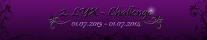 2. Lyx Challange schmaler Banner